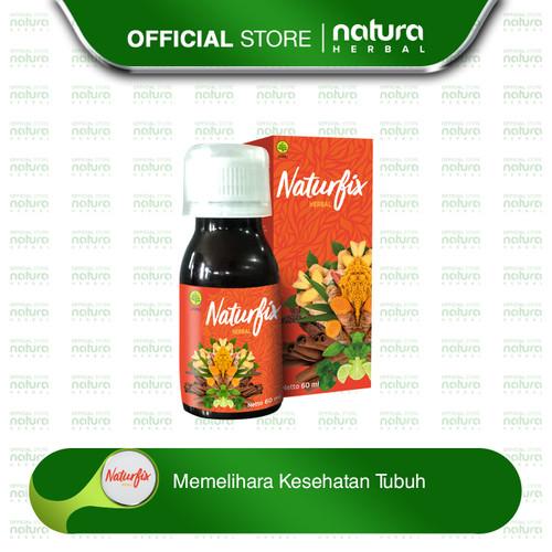 Foto Produk Naturfix Herbal - Memelihara Kesehatan Tubuh - Botol isi 60 ml dari naturaherbal