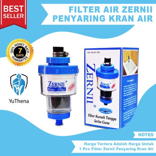 Foto Produk Filter Air Zernii Penyaring Penjernih Kran Air dari YuThena Official Store
