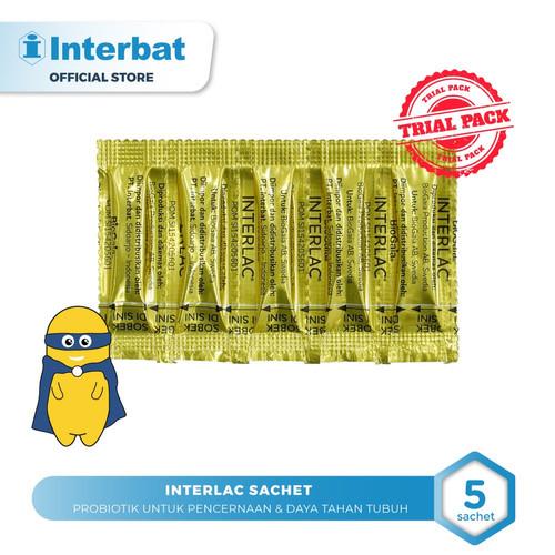 Foto Produk Interlac Probiotik Mini Pack - 5 Sachet dari Interbat Consumer Health