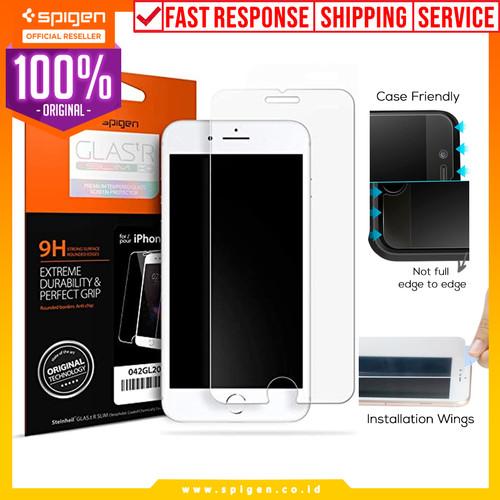 Foto Produk Spigen iPhone 7 Plus / 8 Plus Tempered Glass GLAS.tR SLIM HD dari Spigen Official