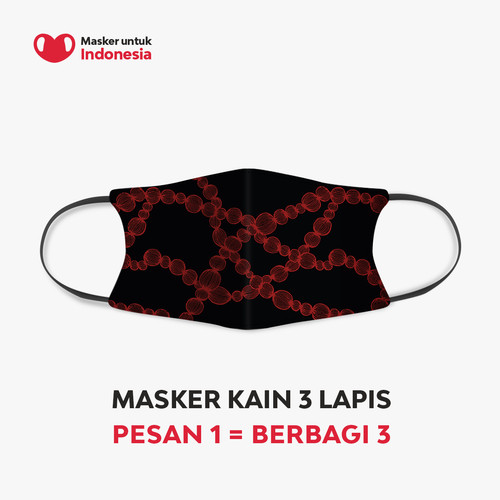 Foto Produk Anaz & Krisna Siantar x Masker untuk Indonesia dari Masker untuk Indonesia