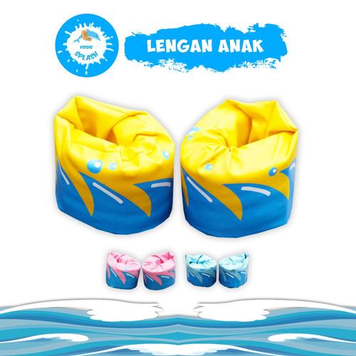 Foto Produk Pelampung Lengan Anak Busa Renang Anti Bocor - KIDDIE SPLASH Original - Yellow Shark dari KIDDIE SPLASH INDONESIA