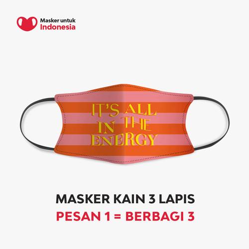 Foto Produk Ayla Dimitri x Masker untuk Indonesia dari Masker untuk Indonesia