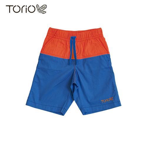 Foto Produk Torio Basic Short Pant Orange Blue - Celana Pendek Anak Laki-laki - 1-2 tahun dari Torio