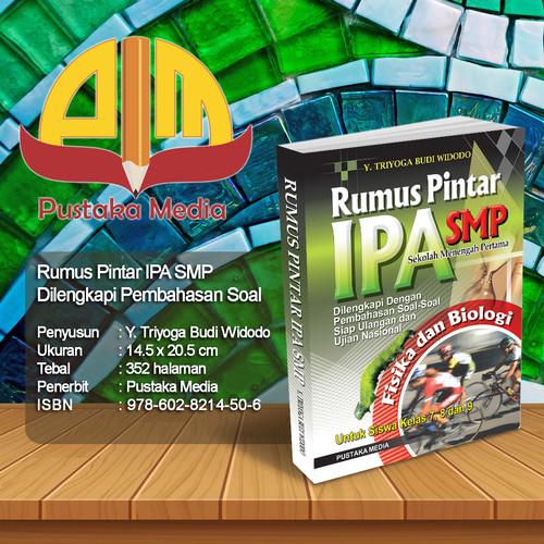 Foto Produk Rumus Pintar IPA SMP Fisika dan Biologi dari Pustaka Media Surabaya