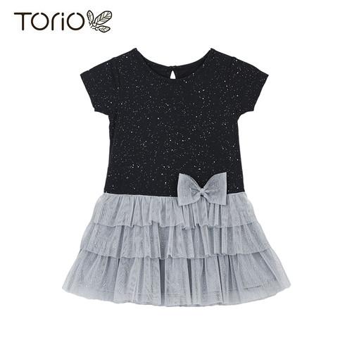 Foto Produk Torio Shiny Dress Luxury Tule - Baju Dress Anak Perempuan - 3-4 tahun dari Torio
