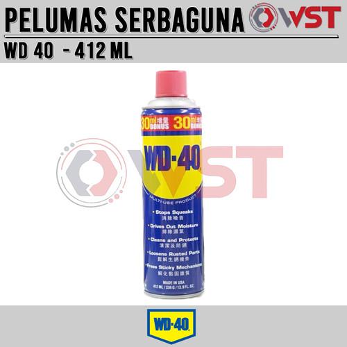 Foto Produk WD 40 412 ML dari Wijaya Santoso Teknik