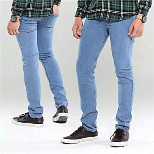 Foto Produk Celana Jeans Cheap monday skinny/pensil pria , hitam pekat - Bioblitz, 27 dari toko jeans isya