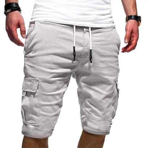 Foto Produk Celana Pendek Jogger Wills Pria Bahan Fleece Tebal Good Quality - Putih, 28 - 33 / M - L dari Kayser_Shop