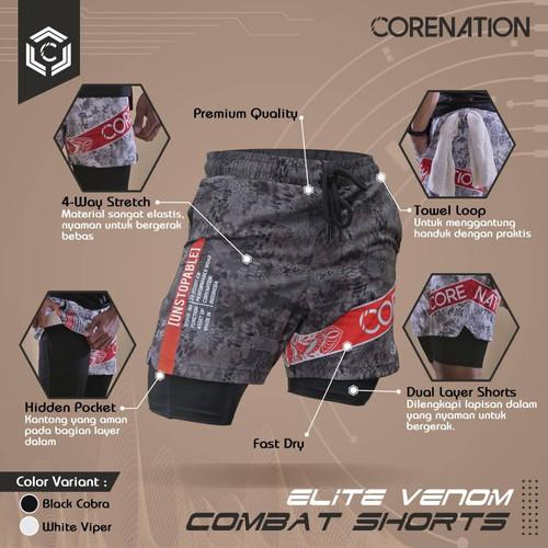 Foto Produk CoreNation Elite Venom Combat Short dari CoreNation Active