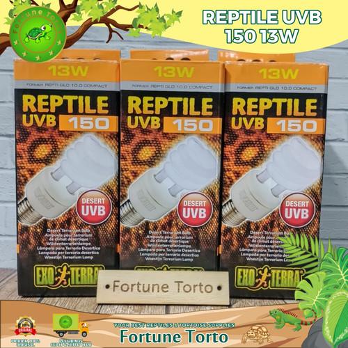 Foto Produk Uvb type 150 13 watt exoterra/lampu reptile/ lampu pengganti matahari dari Fortune Torto