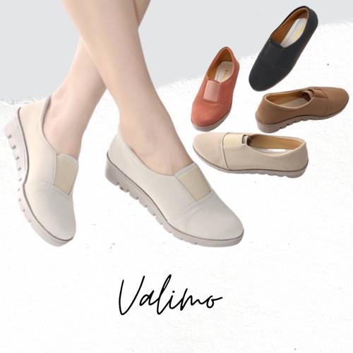 Foto Produk SEPATU WANITA SLIP ON REZILIA - VALIMO - Merah Muda, 37 dari valimo shoes