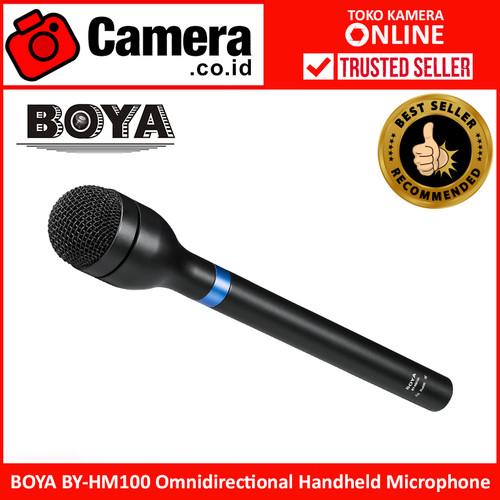 Foto Produk BOYA BY-HM100 Omnidirectional Handheld Microphone dari camera.co.id