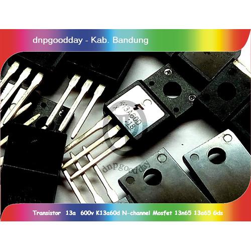 Foto Produk Transistor 13a 600v K13a60d N Channel Mosfet 13n65 13a65 dari dnpgoodday