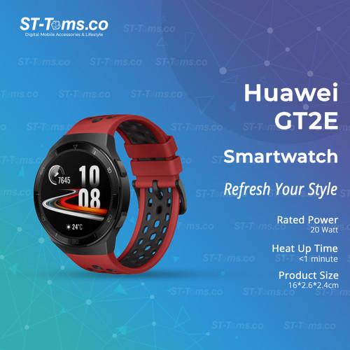 Foto Produk Huawei Watch GT2E / GT 2E 46mm Smartwatch - Red dari ST-Toms.co