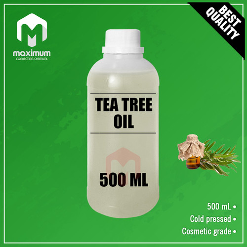 Foto Produk Tea Tree Oil 500ml - Cosmetic Grade dari Maximum Chemical