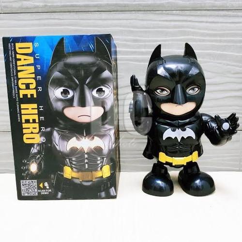 Foto Produk DANCE ROBOT SUPER HERO DANCING BATMAN 27160 dari Happy Toys
