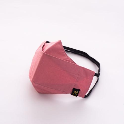 Foto Produk Masker Hijab 3 ply   Masker Headloop Kain Polos Warna model Evo - peach dari SATIRES