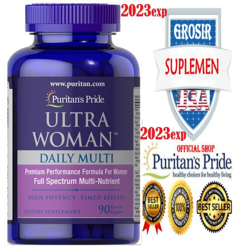 Foto Produk Ultra Woman Max Daily Multivitamin 90 Caps Puritan -Vitamin Wanita dari SUPLEMEN SEHAT 99