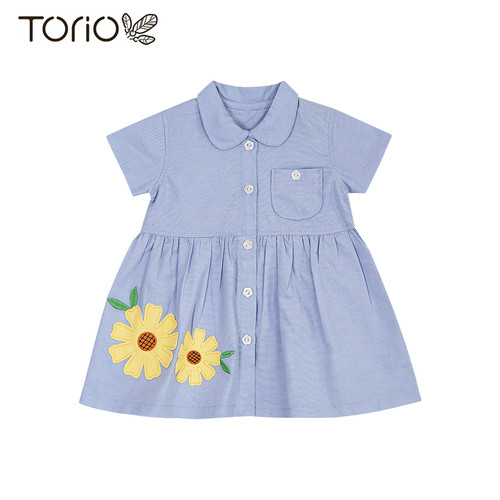 Foto Produk Baju Anak Perempuan Torio Classic Garden Dress - 3-6 bulan dari Torio