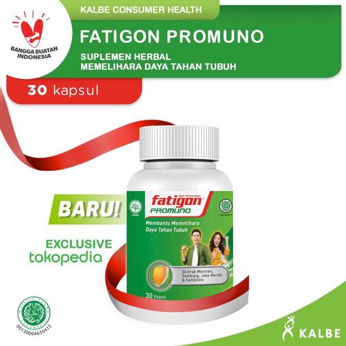 Foto Produk Fatigon Promuno Suplemen - Botol Isi 30 Kapsul dari Kalbe Consumer Health