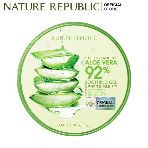 Foto Produk NATURE REPUBLIC Aloe Vera 92% Soothing Gel 300ml dari NATURE REPUBLIC OFFICIAL