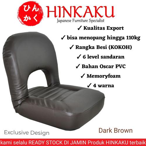 Foto Produk Kursi Santai Lesehan 003 - Cokelat dari Hinkaku Official