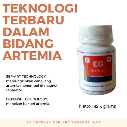 Foto Produk ARTEMIA SEP-ART TECHNOLOGY INVE ORIGINAL REPACK 42.5 gram MURAH dari AQUALIFE ID