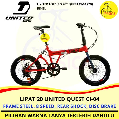 Foto Produk Sepeda Lipat 20 United Quest dari Sepeda Jessica