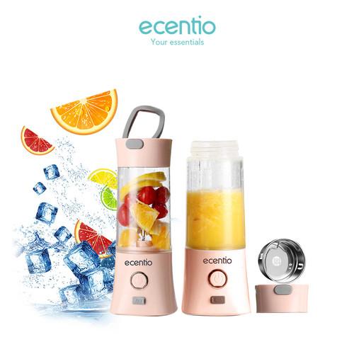 Foto Produk Ecentio Juicer portable blender charger USB tahan air 5V 380ml - Merah Muda dari ecentio Official Store