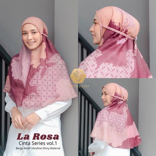 Foto Produk HIJAB BERGO MOTIF - CINTA SERIES YOUTHSCARF (Hijab instant) - BERGO LA ROSE dari Youthscarf Official