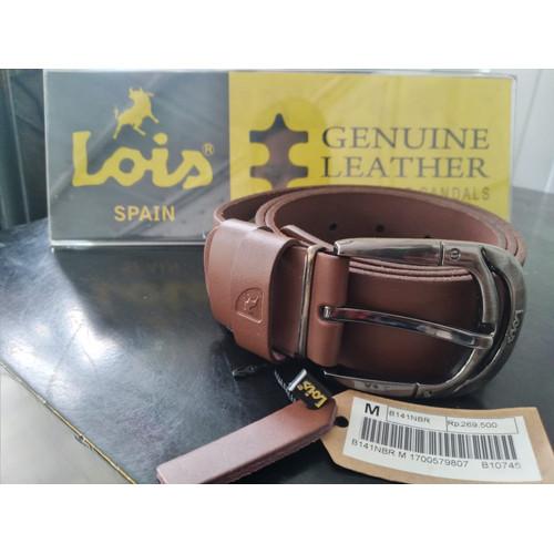 Foto Produk IKAT PINGGANG LOIS B 141 NBR dari LoisLeatherfootwear