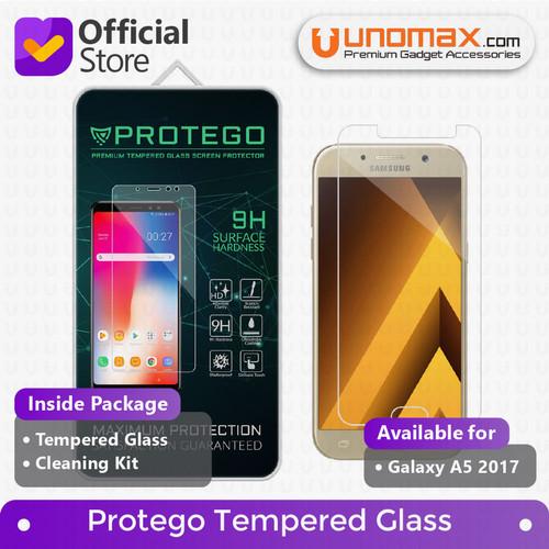 Foto Produk Protego Samsung Galaxy A5 (2017) Tempered Glass Screen Protector dari unomax