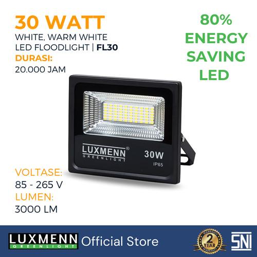 Foto Produk Lampu Sorot FloodLight Luxmenn LED, 30 Watt, Putih & Kuning - Kuning dari Luxmenn Lighting