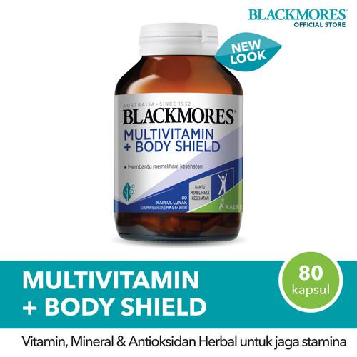 Foto Produk Blackmores Multivitamin + Body Shield (80) dari Blackmores Wellness