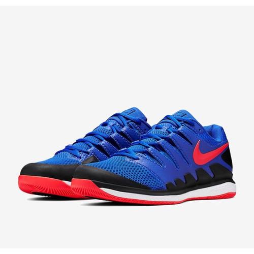 Foto Produk Sepatu Tenis Tennis Nike Air Zoom Vpr X HC Racer Blue Black Original dari thekey
