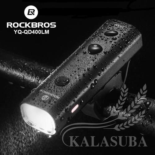 Foto Produk ROCKBROS YQ-QD400LM Bike Light 400 LM - Lampu Sepeda 400 Lumens dari Duta Kalasuba Nusantara