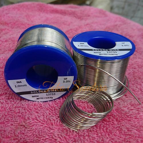 Foto Produk Timah solder istimewa Tanpa-Timbal Lead-Free Sn:96,5% Perak/Silver 3% dari Saudara Loudspeaker