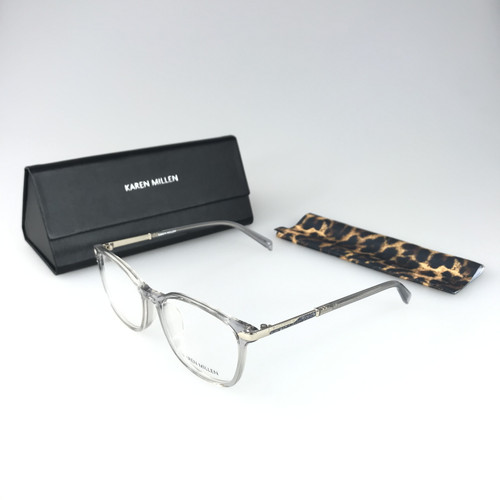 Foto Produk KAREN MILLEN Frame Kacamata Wanita Premium (1043-1) Elegant - Shiny Pink dari Optik Internasional Official