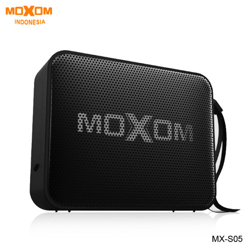Foto Produk Moxom Bluetooth Portable Speaker Waterproof Wireless V5.0 MX-SK05 - Hitam dari Moxom Indonesia