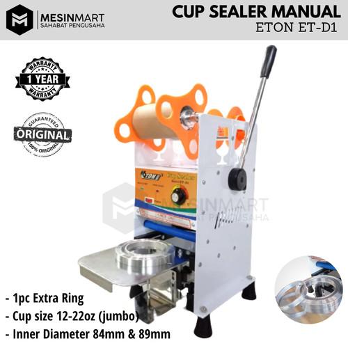 Foto Produk Cup Sealer Mesin Press Gelas ET-D1 untuk Gelas Tinggi Jumbo 22 Oz dari MesinMart