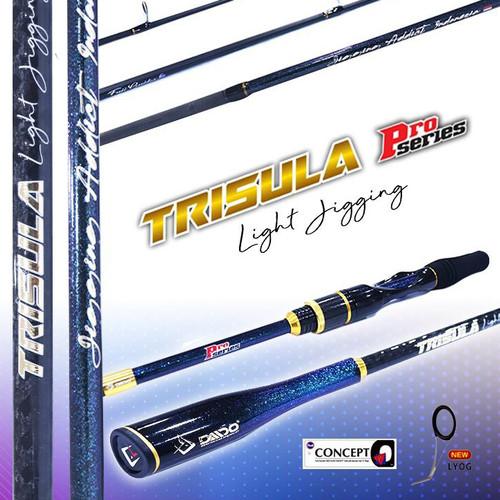 Foto Produk Joran Daido Light Jigging Trisula Pro Series 180 Cincin Fuji Concept - Pe 2-4 dari Orca Pancing