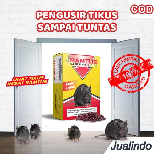 Foto Produk RAMTUS Racun Tikus Mati Kering Pembasmi Ampuh Efektif dan Aman dari Jualindo KP
