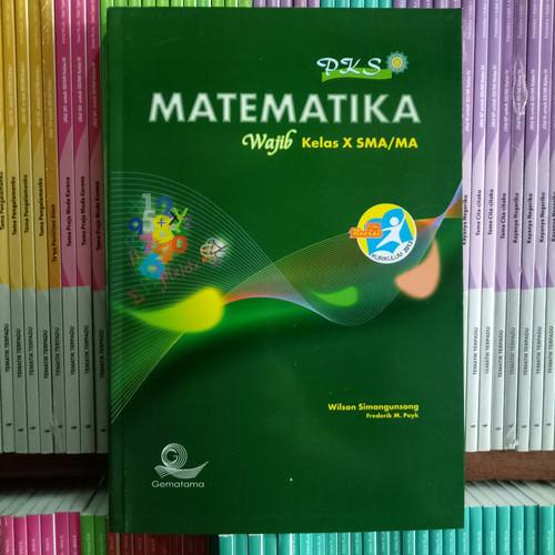 Foto Produk BUKU PKS MATEMATIKA SMA/MA KELAS 10 kelompok wajib K13N dari Pelangi books