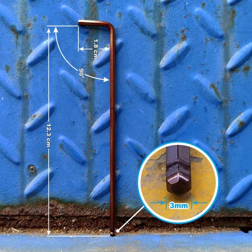 Foto Produk SHERLOCK KUNCI L HEXKEY material S2 (HEAVY DUTY) ukuran 3 mm (1pcs) dari SHERLOCK TOOLS
