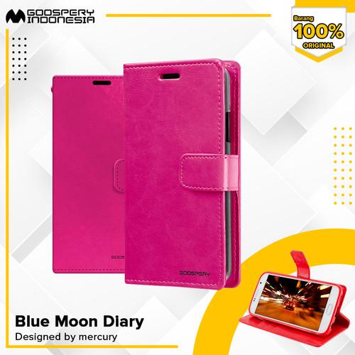 Foto Produk Goospery Blue Moon Diary Case For All Type Handphone Super Deal - Black dari Goospery Indonesia