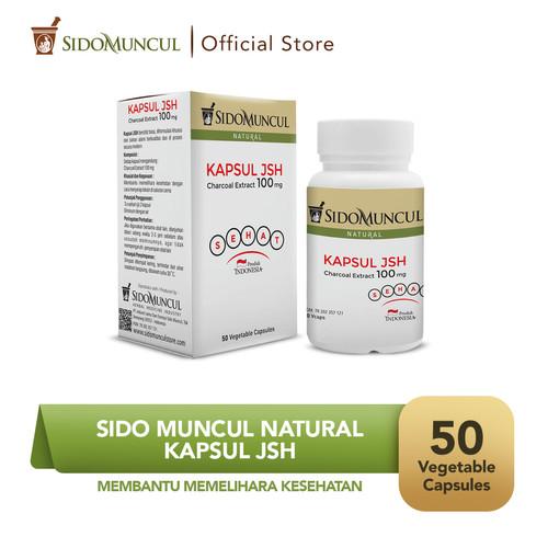 Foto Produk Sido Muncul Kapsul JSH (50'k) - Ekstrak Charcoal Menyerap Toksin dari Sido Muncul Store