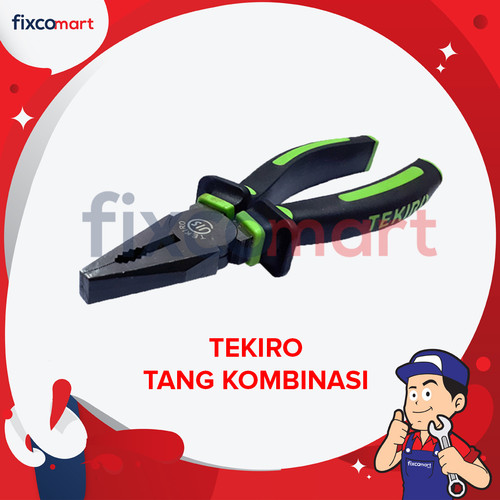 Foto Produk Tekiro Tang Kombinasi 4.5 Inch / Tang Potong dari FIXCOMART