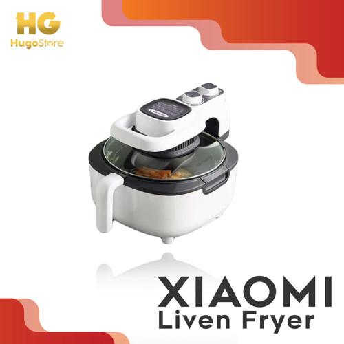 Foto Produk Xiaomi Liven 5L Air Fryer Mesin Penggoreng Udara Tanpa Minyak - Putih dari hugostore_id