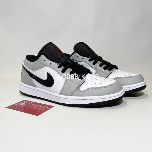 Foto Produk Nike Air Jordan Low Light Smoke Grey 100% ORIGINAL MATERIAL GUARANTEE dari Gudang Bubu